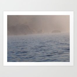 """Adrift.""  Nature Series #1. Art Print"