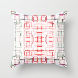 HK tablecloth Throw Pillow