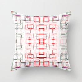 HK tablecloth Throw Pillow