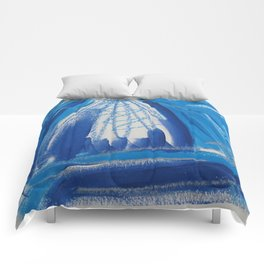 A Study in Blue, No. 6 Comforters
