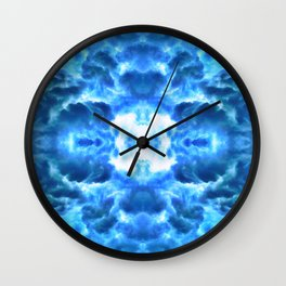 Exiting the Wormhole Wall Clock