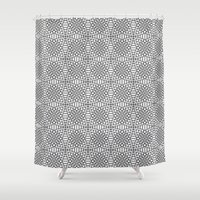 illusion Shower Curtains featuring Illusion by Uriya Ganor