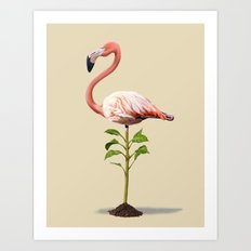 Planted (Colour) Art Print
