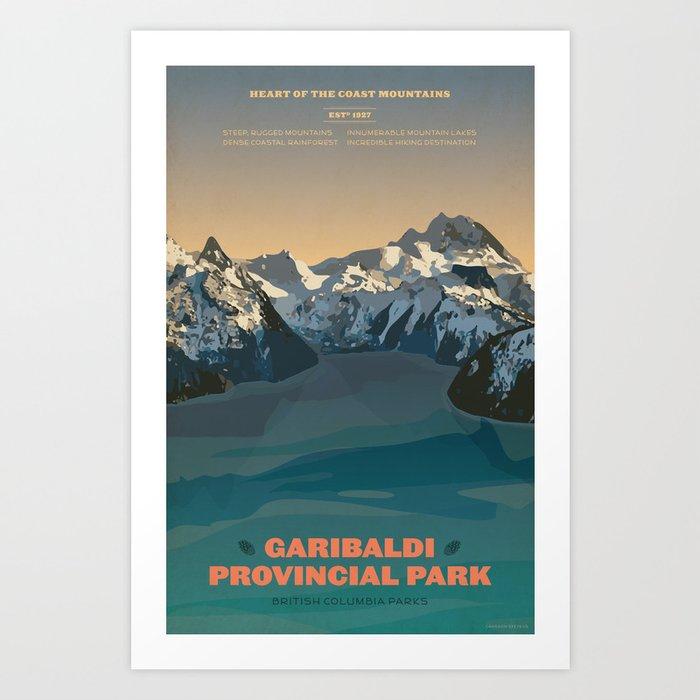 Garibaldi Park Poster Kunstdrucke