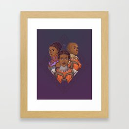 Wakanda Women Framed Art Print