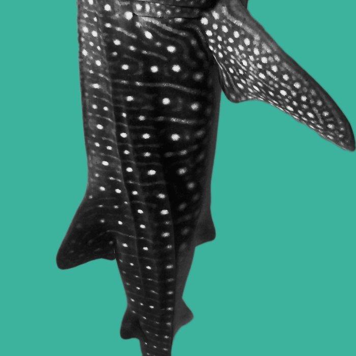 Big Fish, B & W Leggings