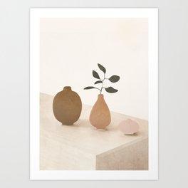Vase Decoration III Art Print