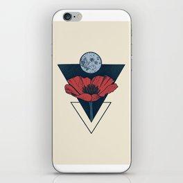 Moon Blossom iPhone Skin