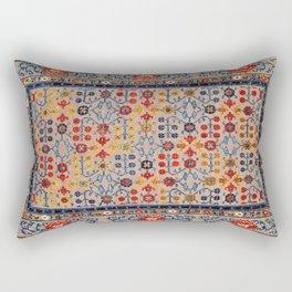 Beijing Palace Carpet Print Rectangular Pillow