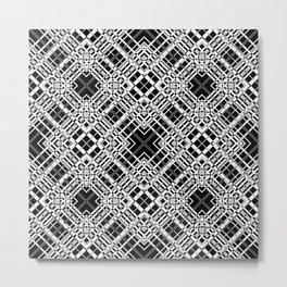 Geometric pattern. Elsa .1 Metal Print