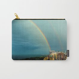 Somewhere Over Chicago Carry-All Pouch