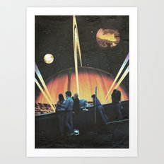 Le Voyage CF Art Print