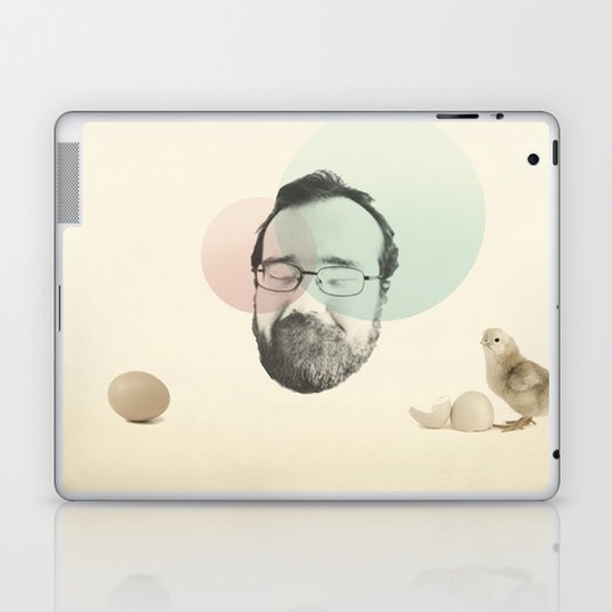 chicken and the egg Laptop & iPad Skin