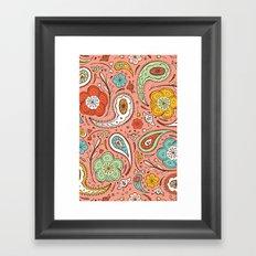 Adora Paisley Framed Art Print