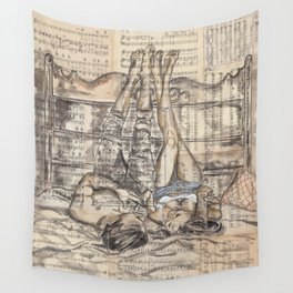 Love Story Wall Tapestry