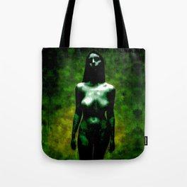 """NUDE """"walk in green"""" Tote Bag"""
