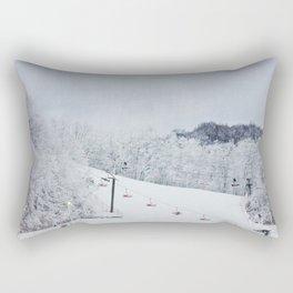 Early Morning Run Rectangular Pillow