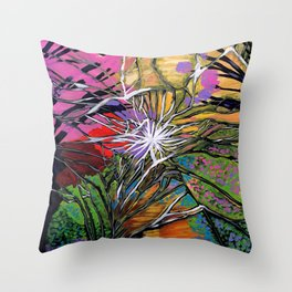 Shattered Dream Throw Pillow