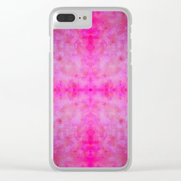 jewelled cross 2 Clear iPhone Case