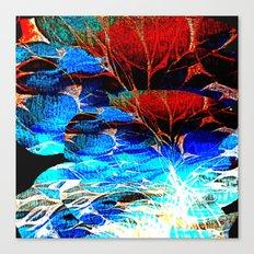 Night Park's sounds Canvas Print