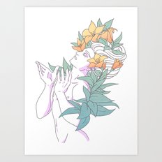 Pretty Boy 4 Art Print