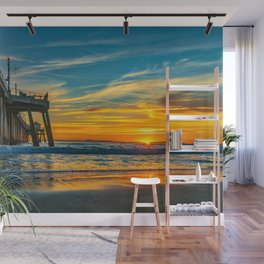 Sunset Splash Wall Mural