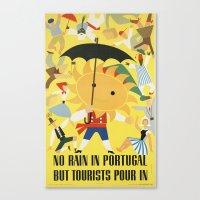 portugal Canvas Prints featuring Portugal by Kathead Tarot/David Rivera