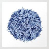 furry Art Prints featuring furry by grafillu