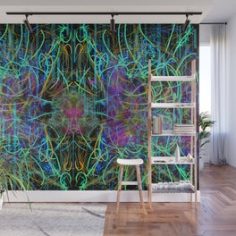 Abstract Energy 4 Wall Mural
