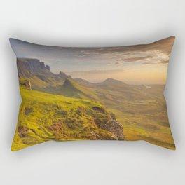 I - Sunrise at Quiraing, Isle of Skye, Scotland Rectangular Pillow