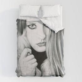Candy perfume girl Comforters