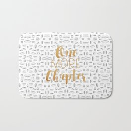 One More Chapter (Gold) Bath Mat