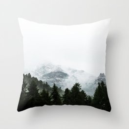 The Way Through The Woods Throw Pillow