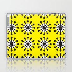 Yellow sunburst Laptop & iPad Skin