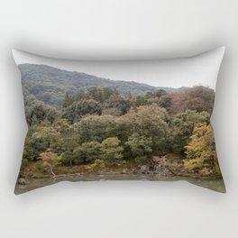 Arashiyama Autumn Rectangular Pillow