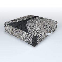 Mandala Mehndi Style G384 Outdoor Floor Cushion