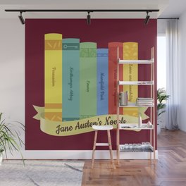 Jane Austen's Novels IV Wall Mural