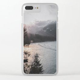 Lac Clear iPhone Case