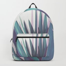 Holographic Leaves Backpack