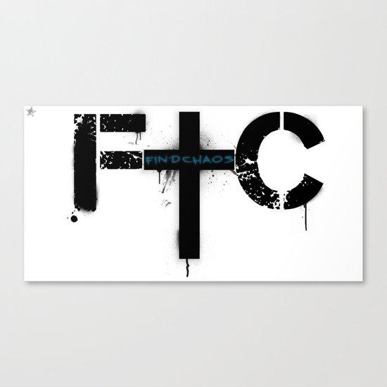 FindChaos - Logo Canvas Print