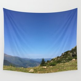 View on the summits Wall Tapestry