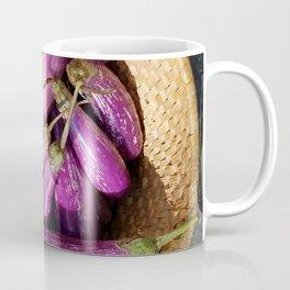 Asian Eggplant in a Basket Coffee Mug