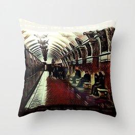 Prospekt Mira Throw Pillow