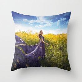 The Winds Of Summer Throw Pillow