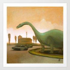 Dinosaur! Art Print