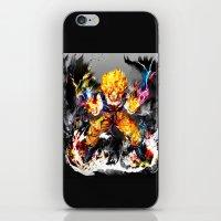 goku iPhone & iPod Skins featuring Goku by ururuty