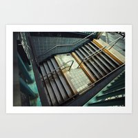 subway Art Prints featuring Subway by Sascha Selli