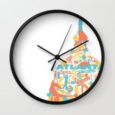Atlanta, GA Wall Clock