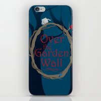 over the garden wall iPhone & iPod Skins featuring Over The Garden Wall by Tourmaline Design