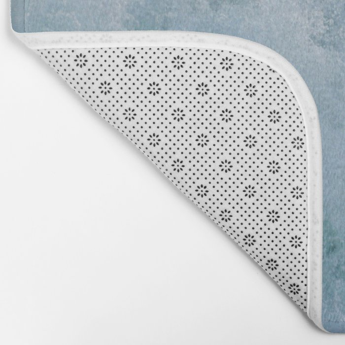 BUBBLES ON THE OCEAN Bath Mat
